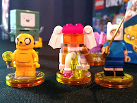 LEGO Dimensions Video Game Fall 2016 Preview Adventure Time Ancient Psychic Tandem War Elephant