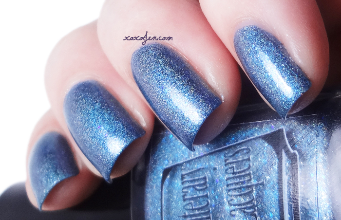 xoxoJen's swatch of Literary Lacquers Heathcliff