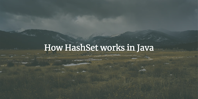 How HashSet works internally in java