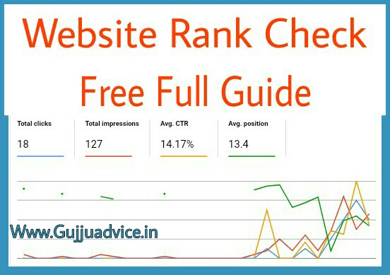Free Me Website Rank Our Keyword Position Kaise Check Kare