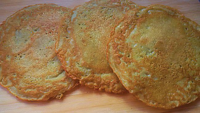 Tortas de patata rallada con roquefort