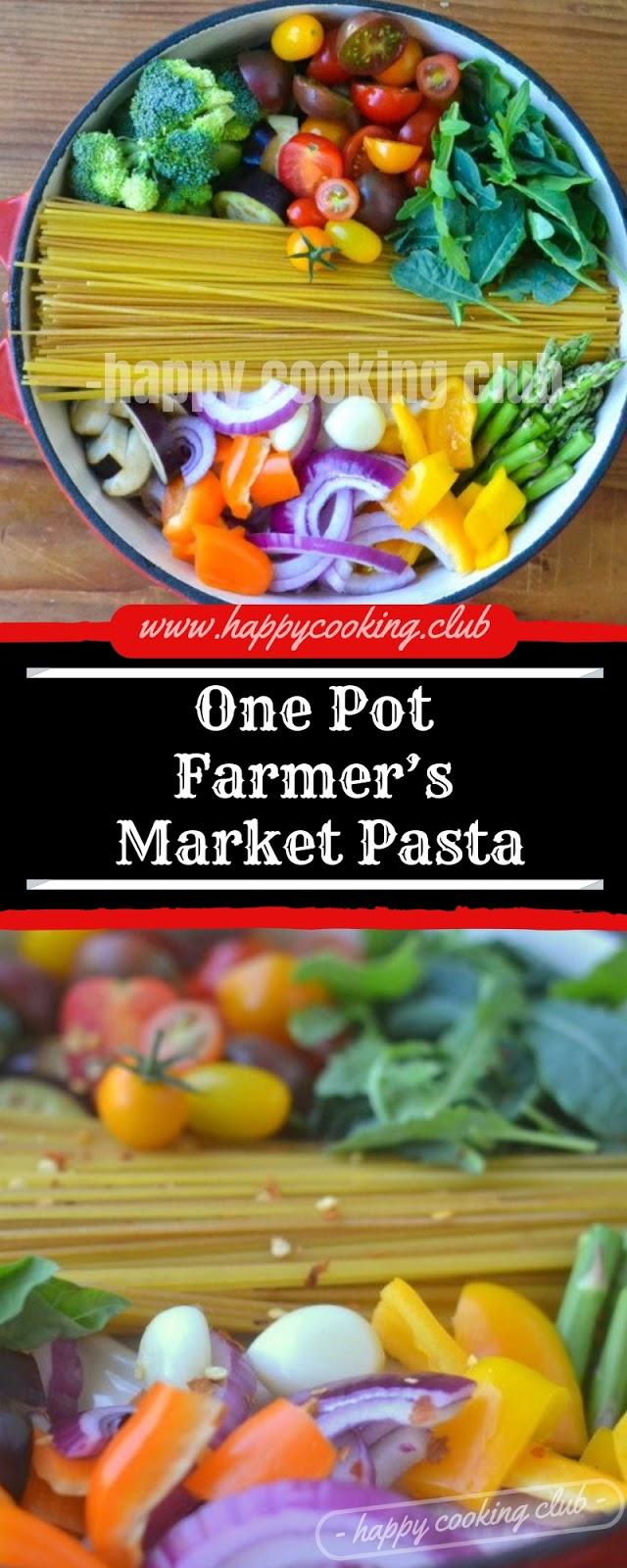 One Pot Farmer's Market Pasta