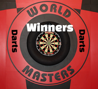 Winmau World Masters Darts, past Winners-Champions, results, history, by year.