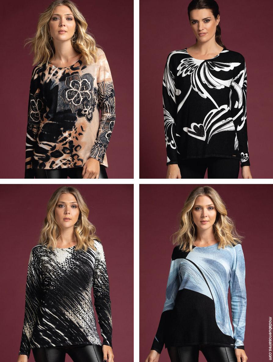Blusas invierno 2019 moda mujer.
