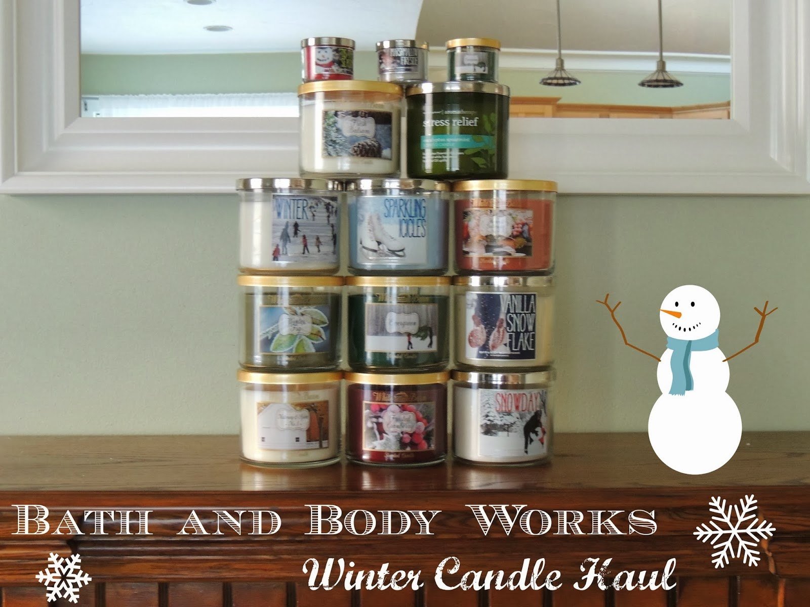 Missebeauty Bath And Body Works Winter Candle Haul