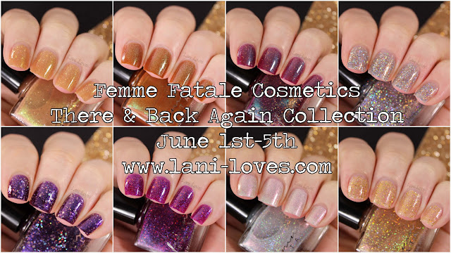 Femme Fatale There & Back Again Collection Swatches & Review