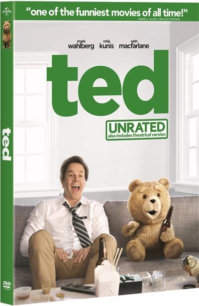 Ted DVDR NTSC Español Latino Menú Full 2012
