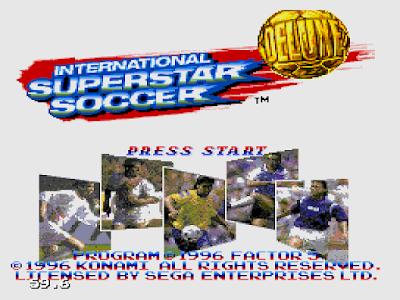 【MD】實況足球,科拿米經典3D擬真運動遊戲!