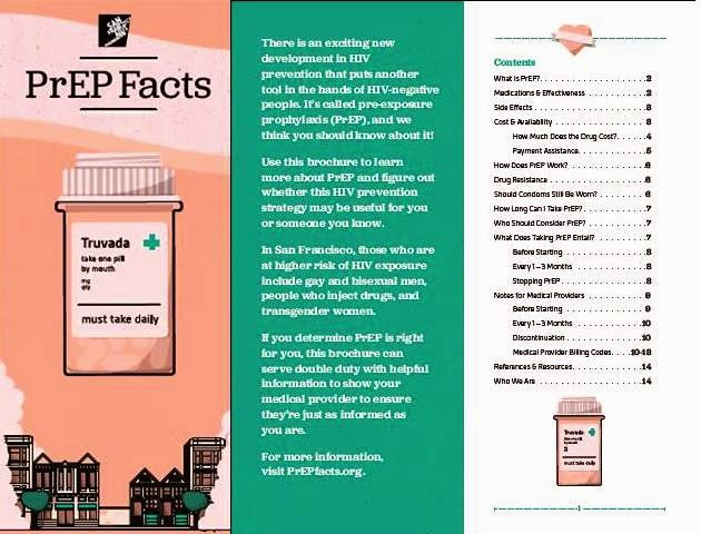 my prep experience prep facts brochure for people and providers