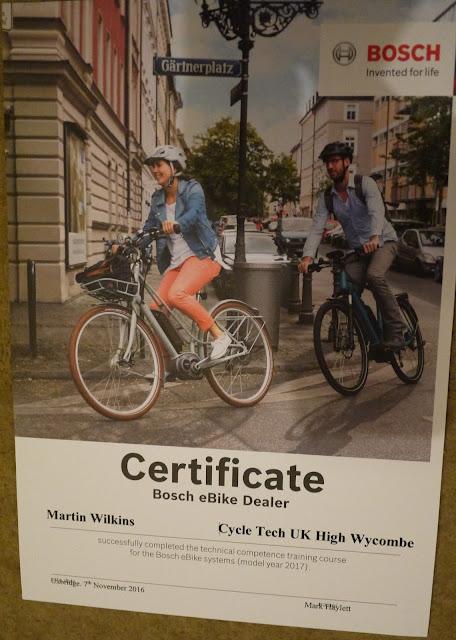 BOSCH eBike Certificate