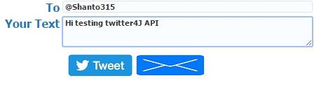 Twiter4J API