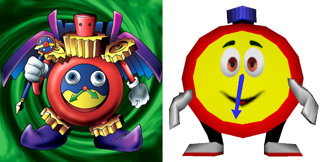 clock clocks Time Wizard Yu-Gi-Oh! T.T. Diddy Kong Racing DKR