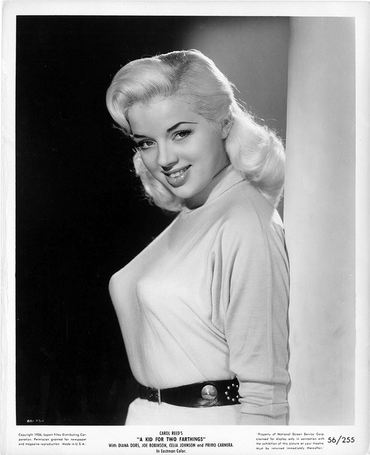 Someone Bought Her A Car After She Type: The Woolly Dog: Diana Dors