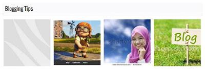 Recent Post per Label dengan Gambar Thumbnail Horizontal (Image Gallery)