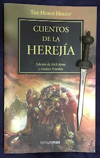 Portada del libro Cuentos de la Herejía, de varios autores