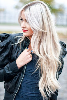 long hair with long layers