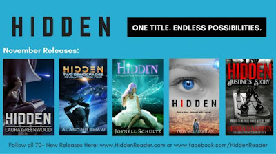 "Introducing the ""Hidden"" Series Book Project @Hiddenreader #hiddenreader #onetitleendlesstales"