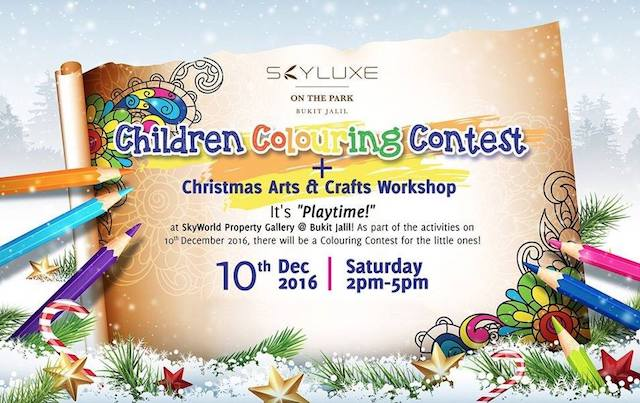 There will be Christmas Arts & Crafts Workshop as well