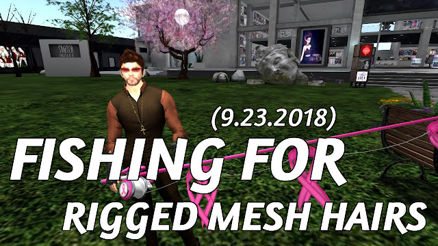 7Seas Fishing For RIGGED MESH HAIRS At Snatch City (Sn@tch) • Second Life Fishing
