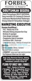 Tantangan Kerja di PT. Euro P2P Direct Indo (Forbes) Bandar Lampung Agustus 2016.