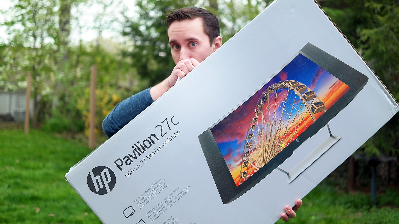 Raymond Strazdas HP 27c Curved Display Campaign