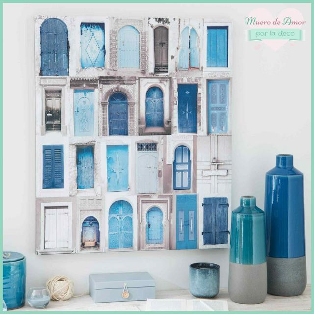 Jarrones Azules para Decorar tu Casa-Maisons Du Monde-By Ana Oval-1