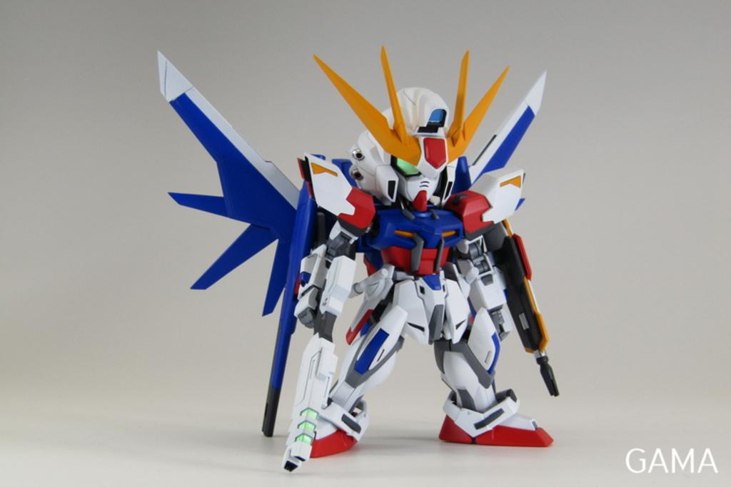 Custom Build Sd X Hg Build Strike Gundam Full Package