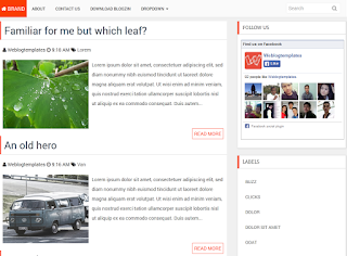 CleanMagazine Blogger Template