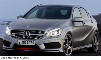 2013 Mercedes A-Class front view