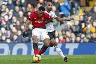 Martial gem lifts resurgent Manchester United into fourth place
