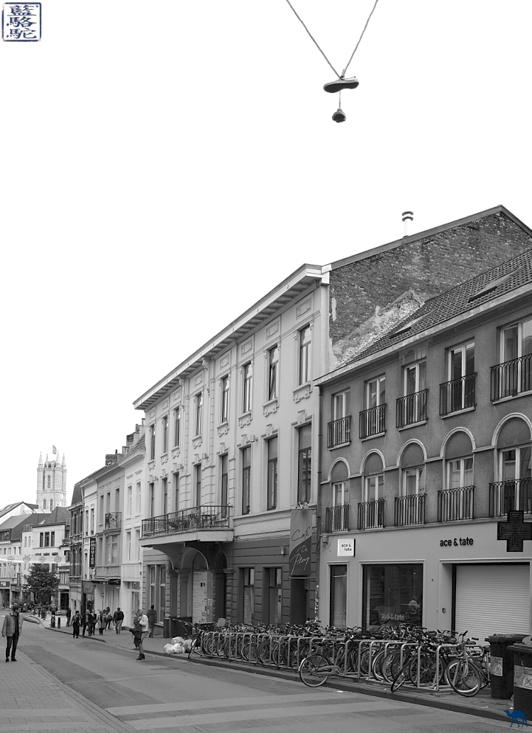 Le Chameau Bleu - Blog Voyage Gand Belgique - Sint-Pietersnieuwstraat - Rue de Gent