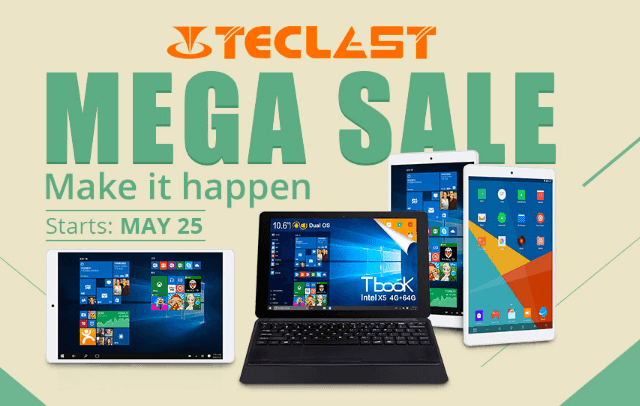 Teclast Brand Sale delivers Huge discounts on limited time offers