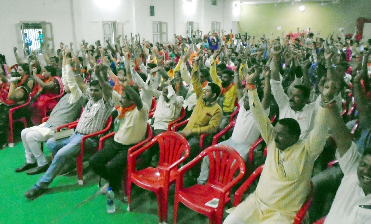 भाजपा के प्रभारियों एवं विस्तारकों की बैठक में प्रदेशा ध्यक्ष ने दिया मार्गदर्शन