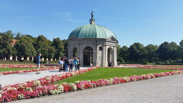 Temple of Diana in Munich