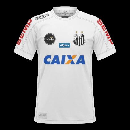 GT Camisas  Camisas Santos 2017   2018 - Home 9c2747daaf808