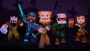 Imagem Minecraft Story Mode Episode 1-5 PS3 2015