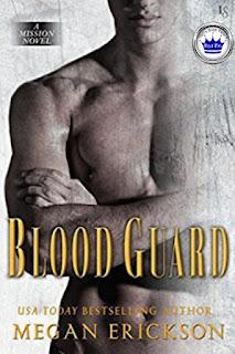 romance novel covers, paranormal romance, Royal Pick, Blood Guard by Megan Erickson