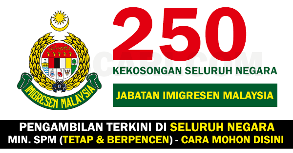 250 KEKOSONGAN IMIGRESEN