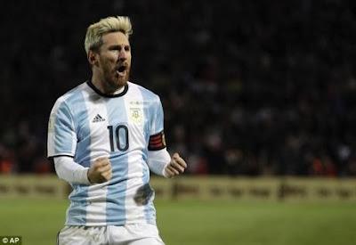 Messi dính chấn thương