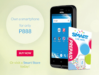 Smart offers MyPhone My28S only 888 Pesos with 1 Year Free Data
