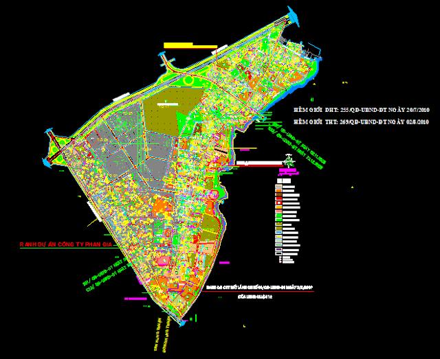 Bản đồ quy hoạch phường Đông Hưng Thuận