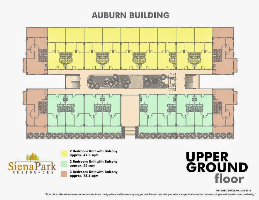Siena Park Residences Upper Ground Floor Plan