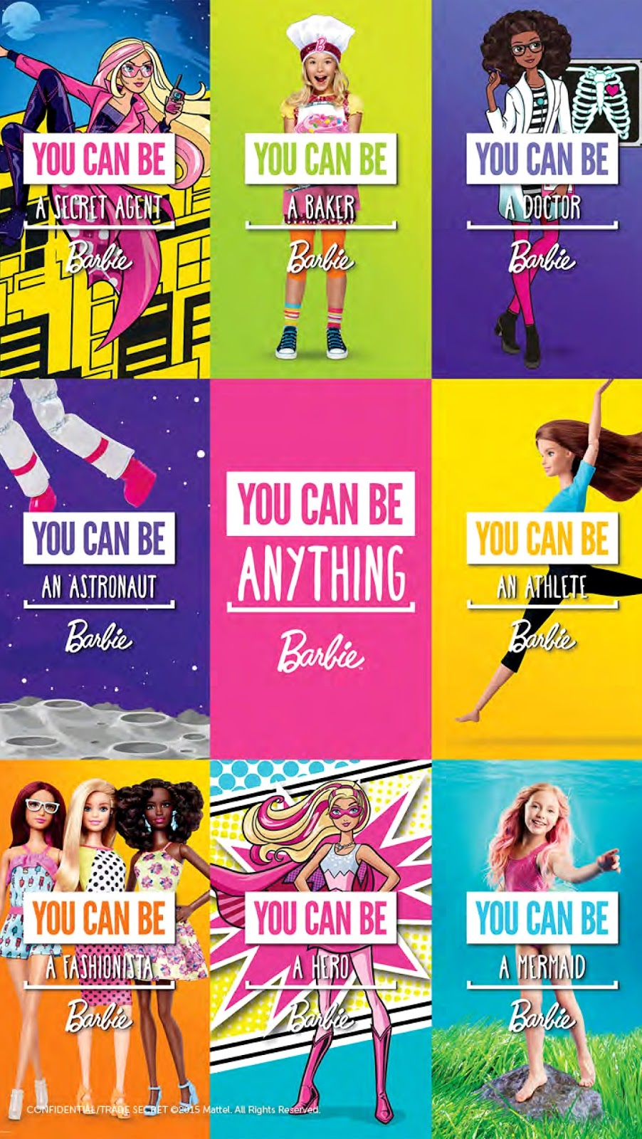 Shopgirl Jen: BARBIE'S YOU CAN BE ANYTHING CAMPAIGN
