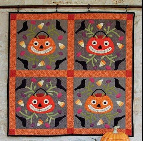 Quilt Inspiration: Best of Halloween 2012: Jack-O-Lantern