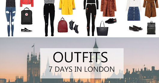 Outfits: 7 Days in London