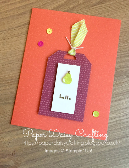 Tuuti Frutti from stampin Up by Paper Daisy Crafting