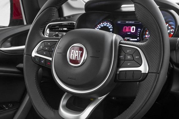 Interior Fiat Cronos 2018