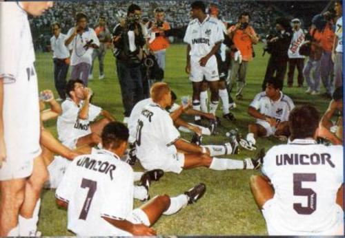 Brasileirão 1995 - Semi Final  Santos 5 x 2 Fluminense 7cb5f2fbb42b7