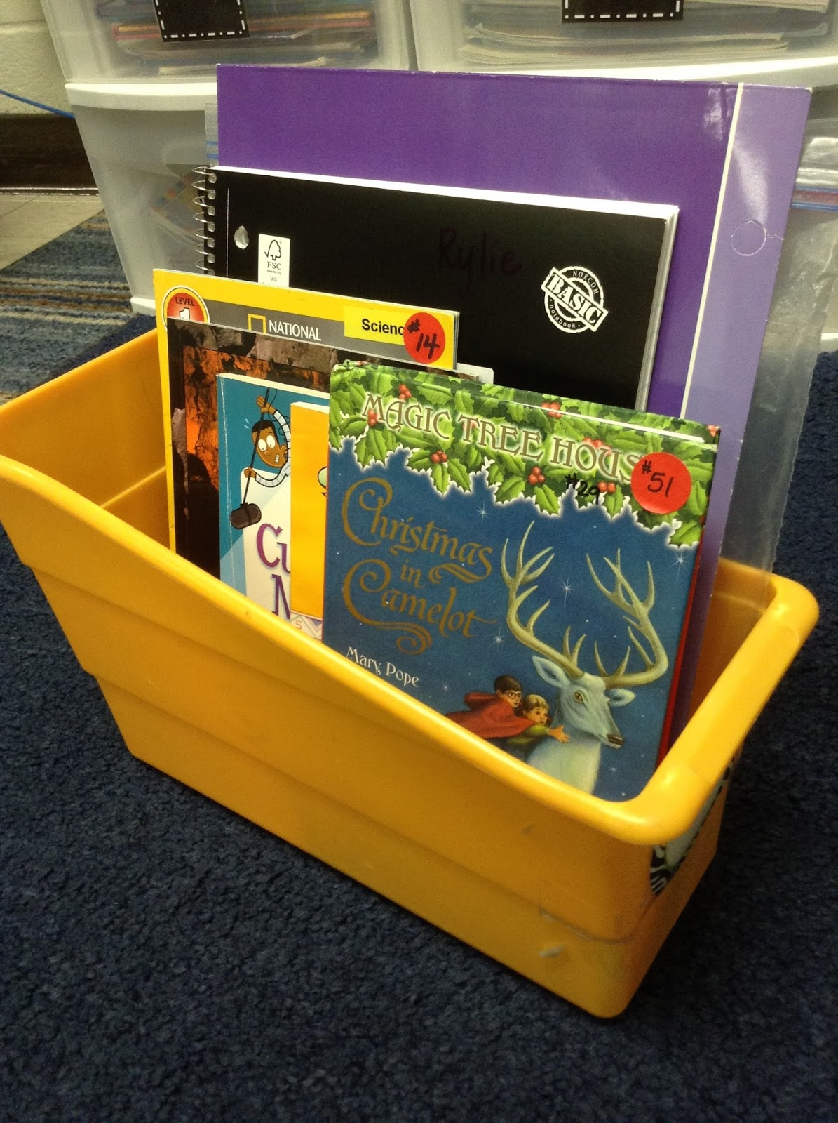 Classroom Coffee Student Book Boxes
