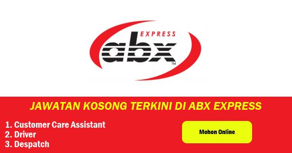 jawatan kosong abx express